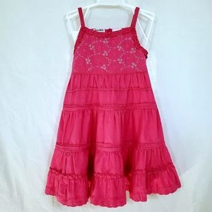 Blueberi Boulevard Pink Sundress